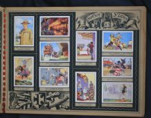 Boy Scouts Baden Powell RARE complete set of 200 chocolate cards Scouting